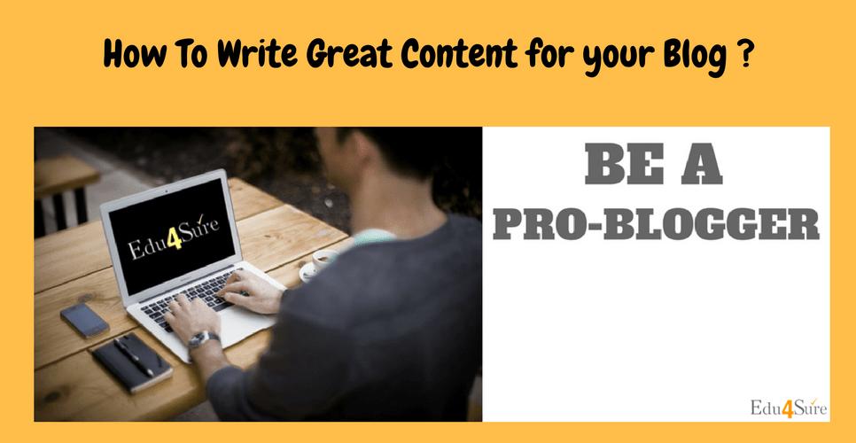 How-Write-Blog-Post-Edu4Sure