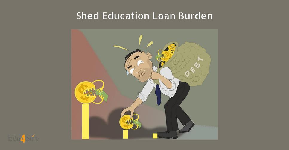 Shed-Education-Loan-Burden-Edu4Sure