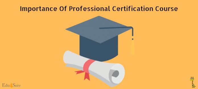 Certification-Edu4Sure