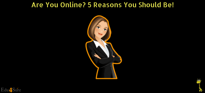 Why-You-Should-Be-Online