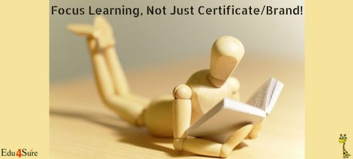 Focus-learning-Not-brand-certificate