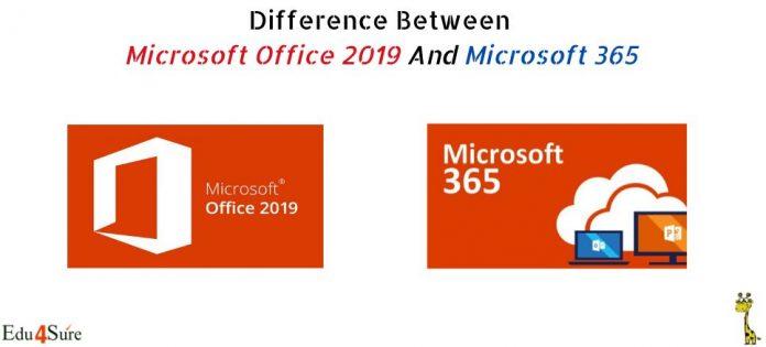 Microsoft-Office-365-vs-2019
